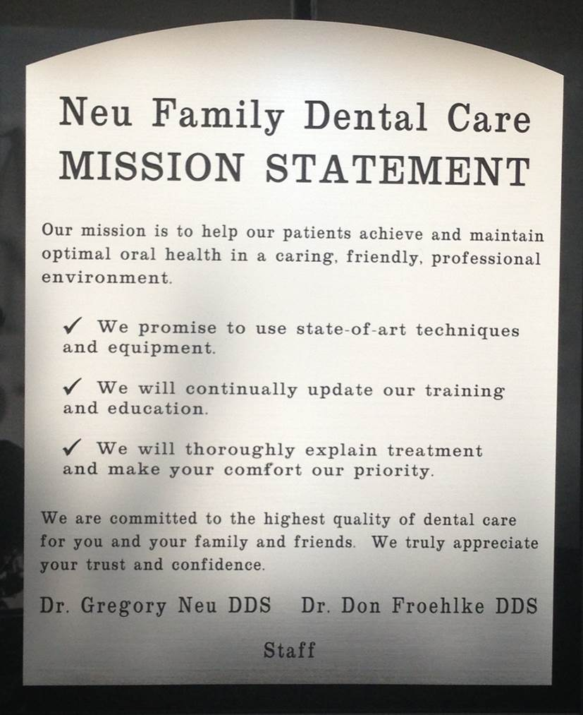 About Us | Neu Family Dental | East Dundee, IL