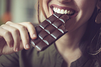 How your Teeth Benefit from Your Eating Dark Chocolate